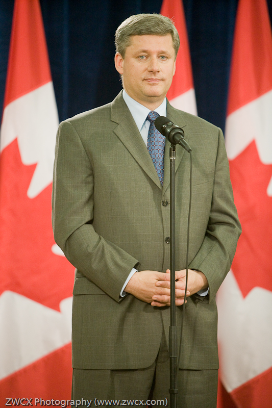 The Right Honourable Stephen Harper, Prime Minister of Canada