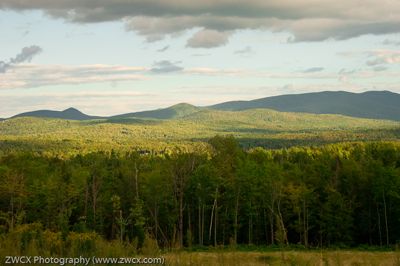 Adirondacks - A view of the Adirondack Mountains, New York