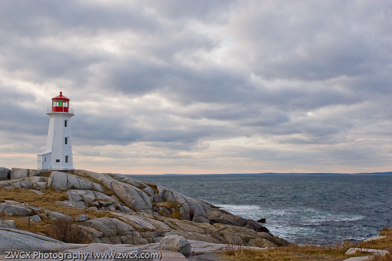 Peggy's Cove - The lighthouse at peggy's cove