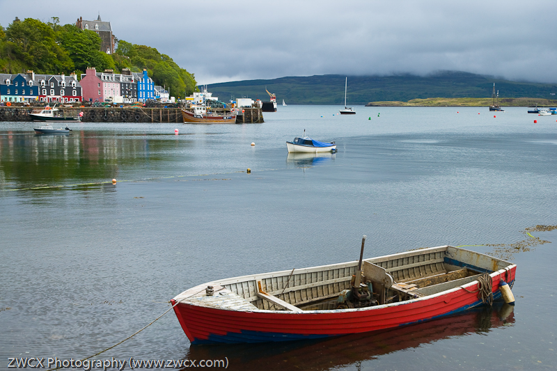 Tobermory - A small fishing boat, Tobermory, Island of Mull, Scotland